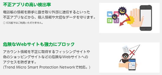 mineoのセキュリティサービス