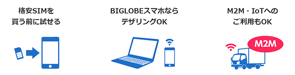BIGLOBE SIMの法人向けサービス