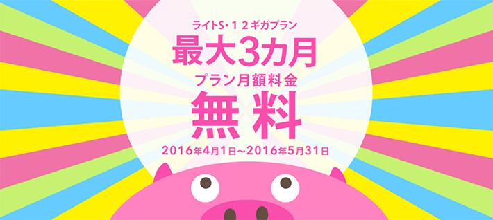 BIGLOBE SIM 最大3カ月無料キャンペーン