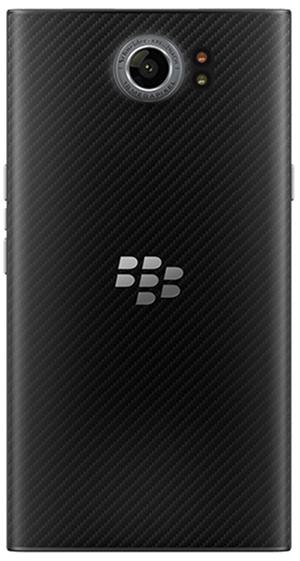BlackBerry PRIV背面