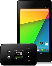 ZTE MF98N & Nexus7(2013)