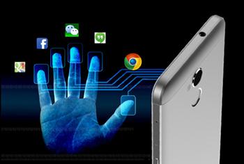 BLADE V7 Liteの指紋認証センサー