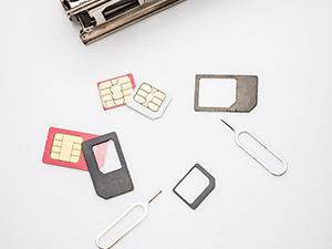 SIMカードのサイズを確認しておく