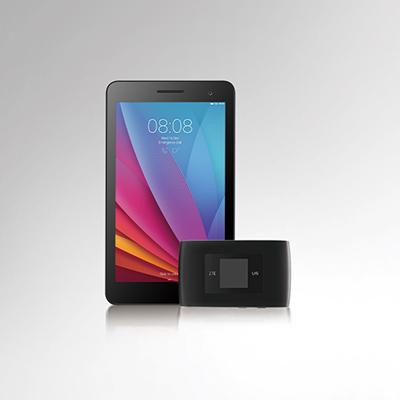 ZTE MF920S + HUAWEI MediaPad T1 7.0