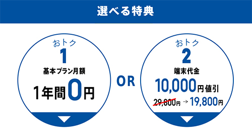 TONE「春のおトク!キャンペーン」