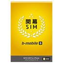 ソフトバンク回線の格安SIM「b-mobile S 開幕SIM」
