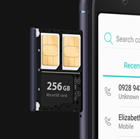 SIMスロット×2、microSDカードスロットが同時に使えるDSDSに対応