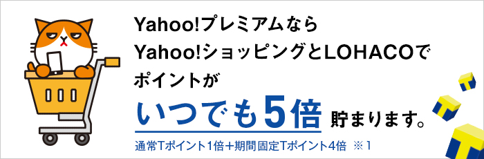 Yahoo!プレミアム for Y!mobileもコミコミ
