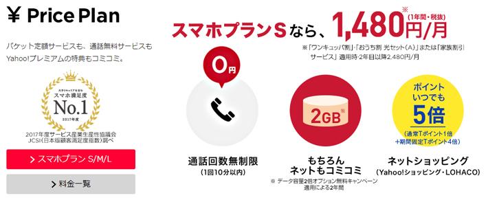 Y!mobileが優れているポイント