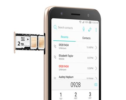 ZenFone Live(L1)はDSDSに対応